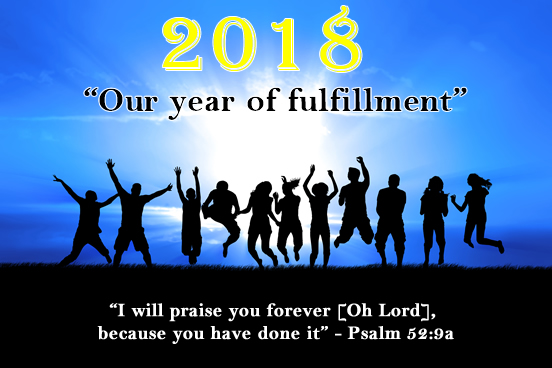 2018 - Year of Fruitfulness